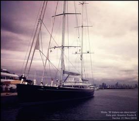 El velero en descanso