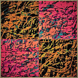 abstract made w/ laptop touchpad
