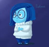Inside out - Sadness by Shirusaki