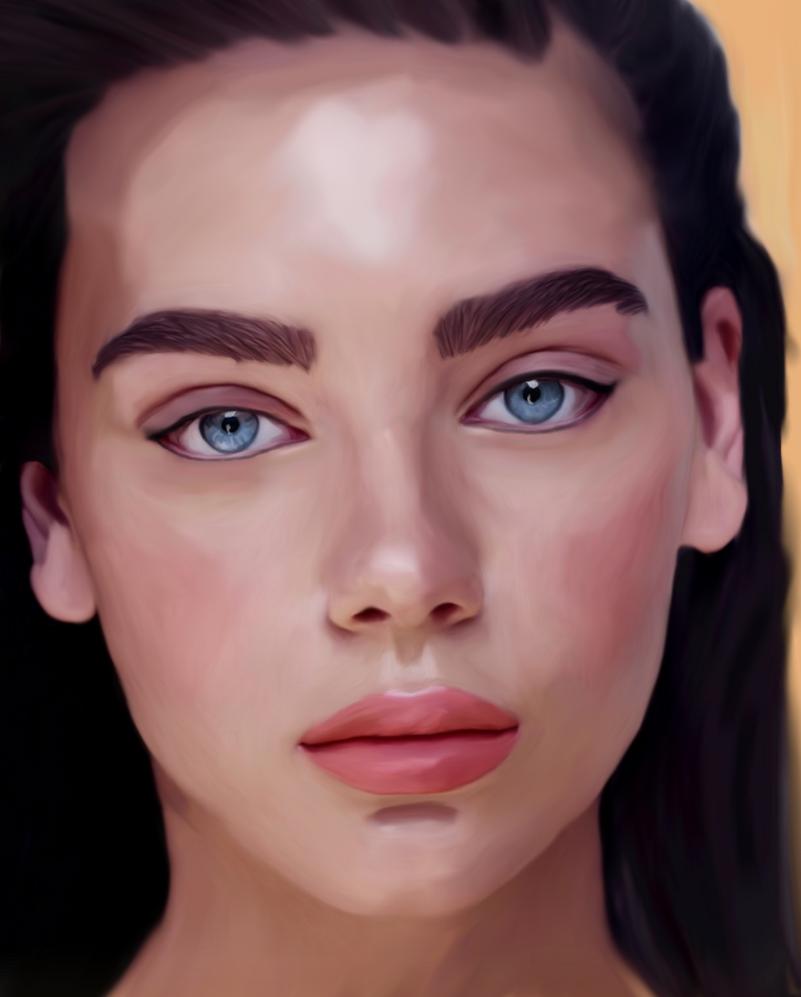 Portrait study by Illiamsart