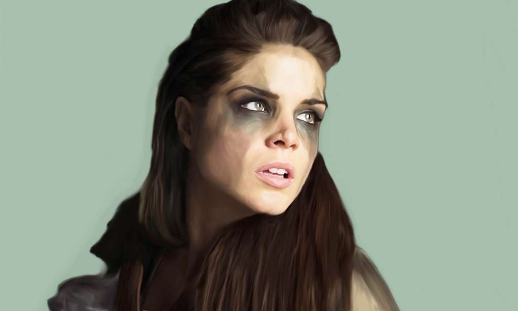 Octavia Blake // The 100 by Illiamsart