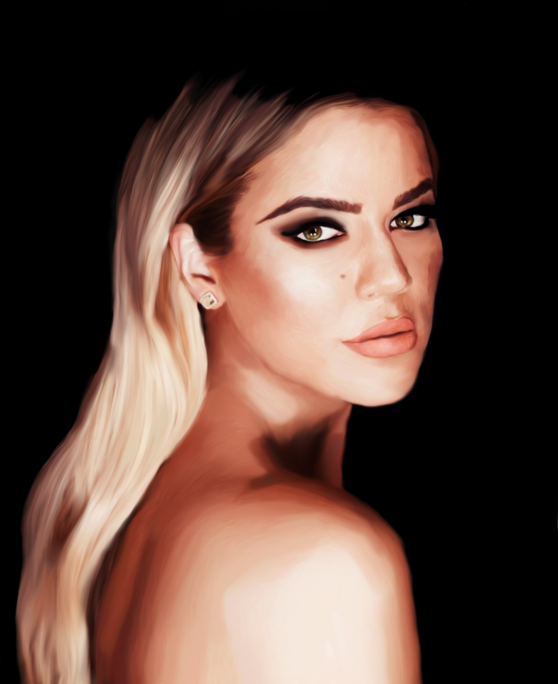 Khloe Kardashian by Illiamsart