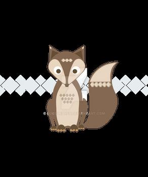 Brown Vector Fox