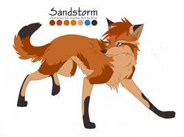 Cameo sheet - Sandstorm by KayFedewa