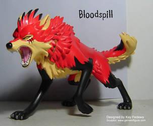 Bloodspill proto figure paint by KayFedewa