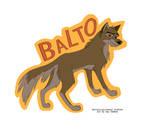 Balto Badge