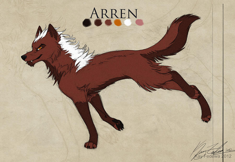 Commission - Arren by KayFedewa