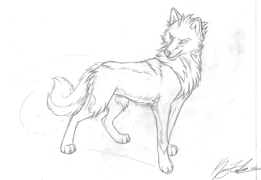 Desoto Sketch by KayFedewa