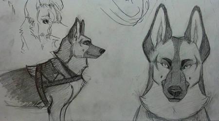 Hagan character concept by KayFedewa