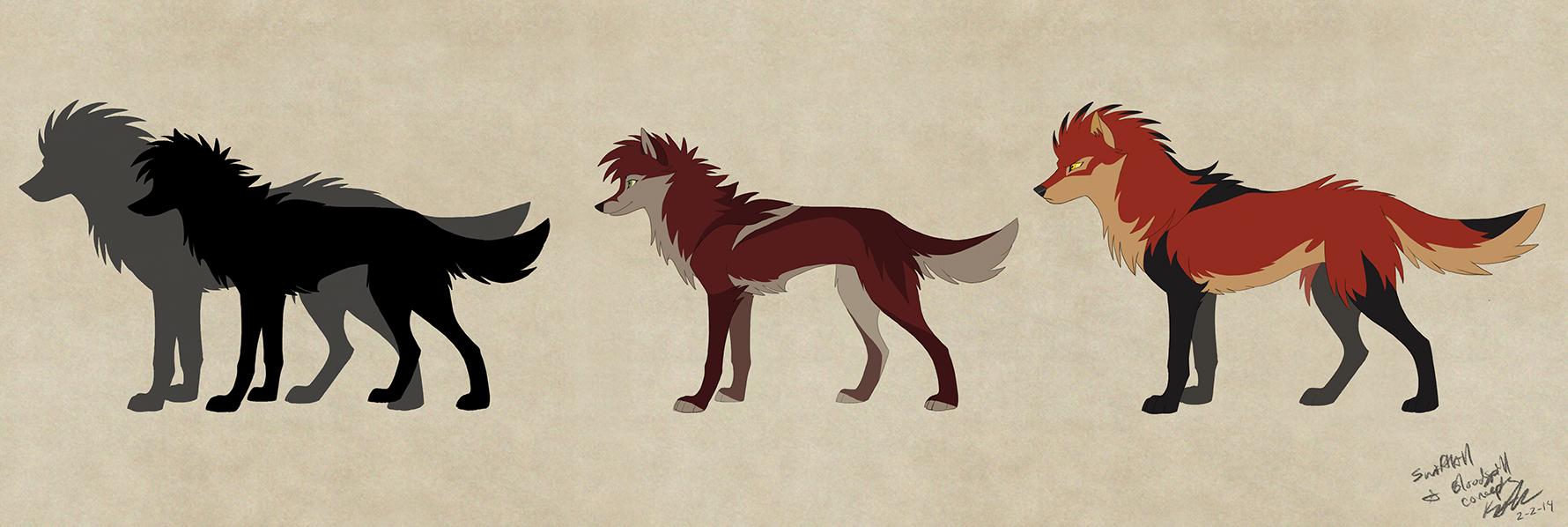 Swiftkill with Bloodspill concept by KayFedewa