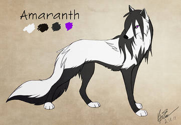Amaranth 2 - commission by KayFedewa