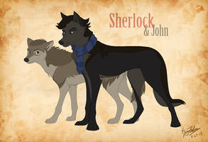 Sherlock AND JOHN wolves