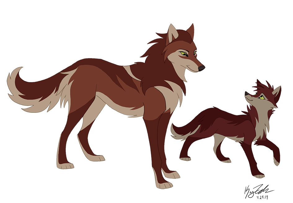 Swift and Mom - Concept by KayFedewa