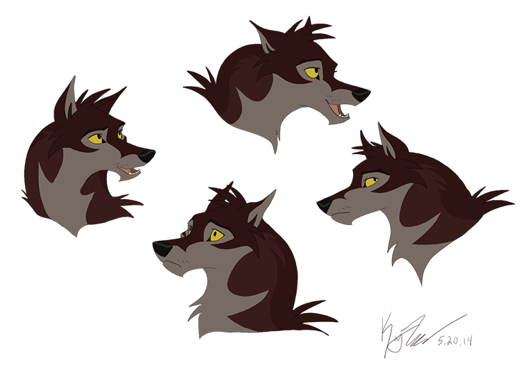 some concept heads by KayFedewa