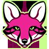 Zebrafox head icon by KayFedewa
