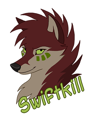 SK Anthrocon Badge by KayFedewa