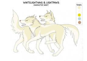Character sheet 17- WL and LP by KayFedewa