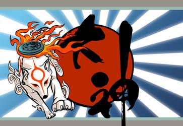 Okami Wallpaper by KayFedewa