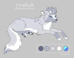 Char sheet 27 - Frostbolt by KayFedewa