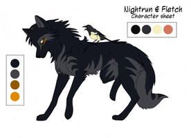 Nightrun Character Sheet by KayFedewa