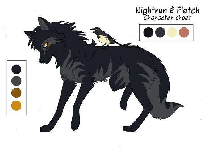 Nightrun Character Sheet by KayFedewa
