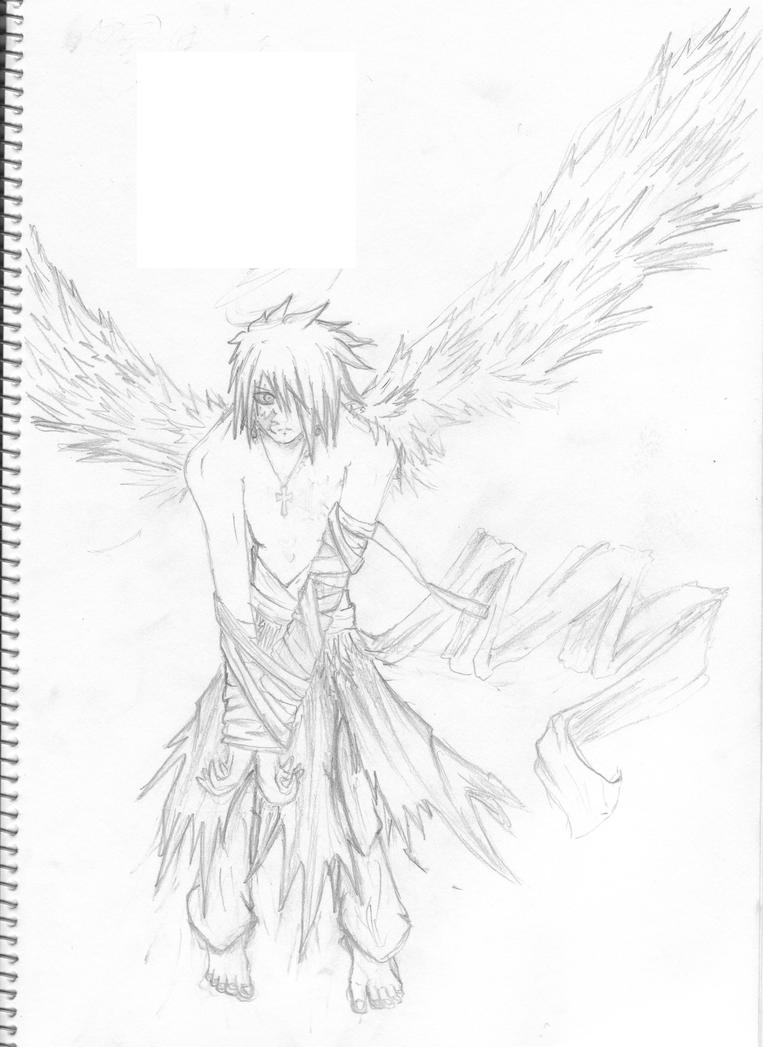 coloring pages of fallen angels - photo#9