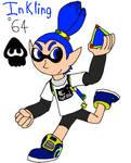 64 Inkling (Male) (Splatoon)