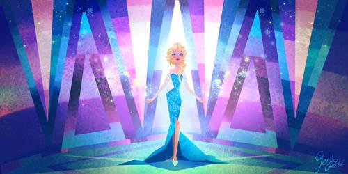 Elsa Frozen by geryri