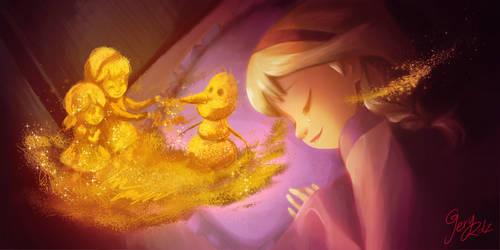 Elsa's dream by geryri