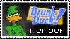 Drunk Duck member stamp by Adrakitt