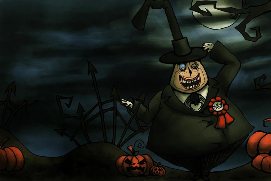 Mayor of the Halloweentown by Adrakitt