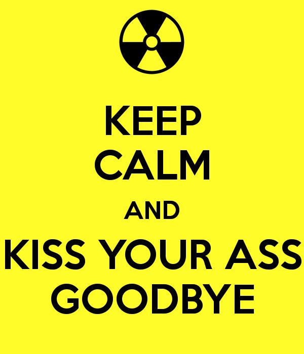 Kiss you ass goodbye, flat boobs xxx