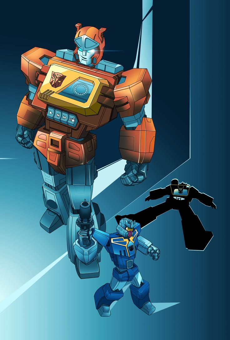 Autobot Blaster by emanz