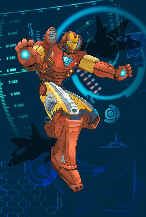 Hard Target IronMan by emanz