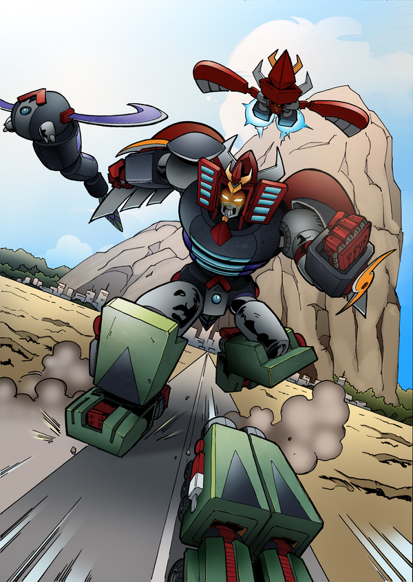 Robot-God-Akamatsu by emanz