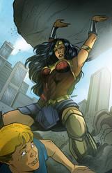 wonderwoman to the rescue