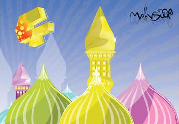 vector Masjid by mansoor112
