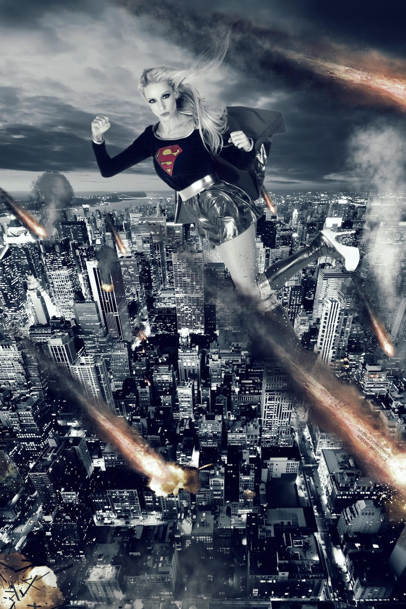 Supergirl Apocalypse by editingninja