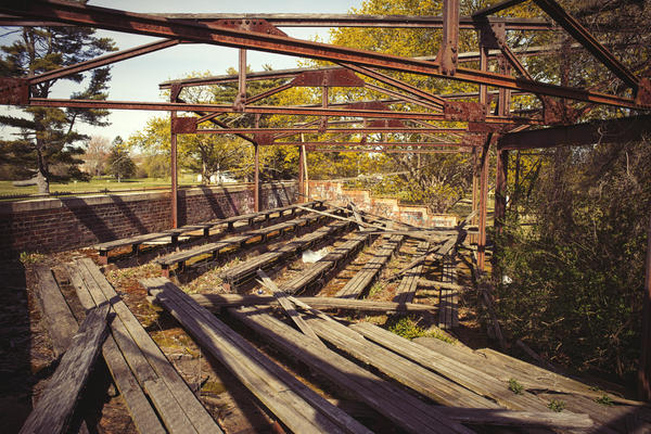 Urbex Stadium by editingninja