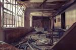 Surgical Building hallway