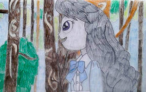 Octavia as Marnie in the forest by HAKDurbin