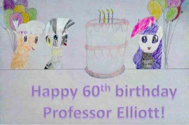 Teacher's Birthday Card (request) by HAKDurbin