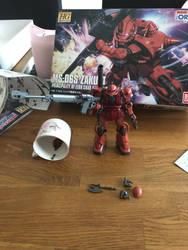 Gunpla Progression: Zaku II Part 9