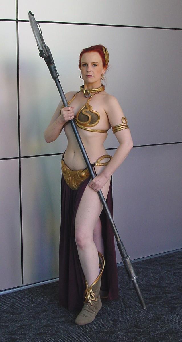 Leia- Jabba's Barge Bikini 1 by glittersweet