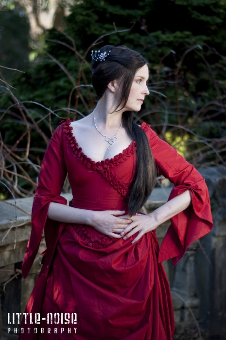 Mina Absinthe Gown by glittersweet