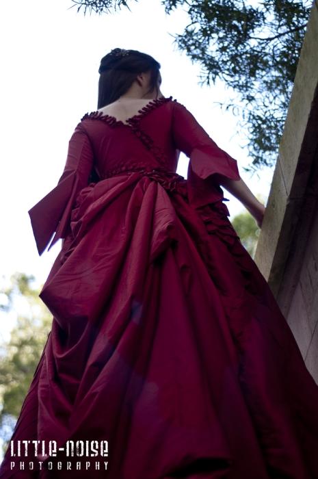 Mina Absinthe Gown drapery by glittersweet