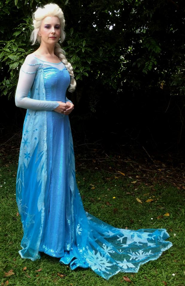 Elsa stage 1 by glittersweet