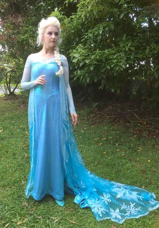 Elsa stage 1- part 2 by glittersweet