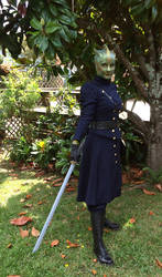 Madame Vastra by glittersweet