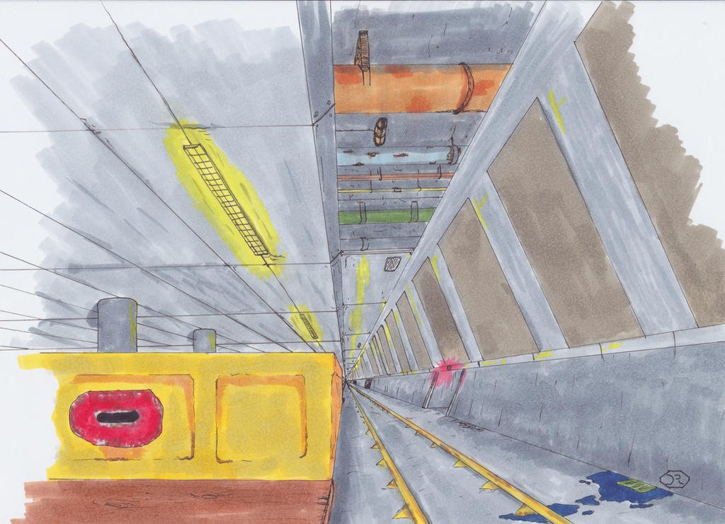 Underground Facility by Raeffi